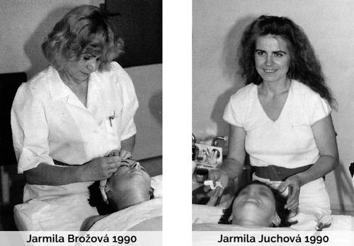 Jarmila Juchová a Jarmila Brožová kosmetika historie